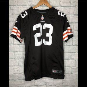 Cleveland Browns Jersey Tshirt Haden 33 Nike